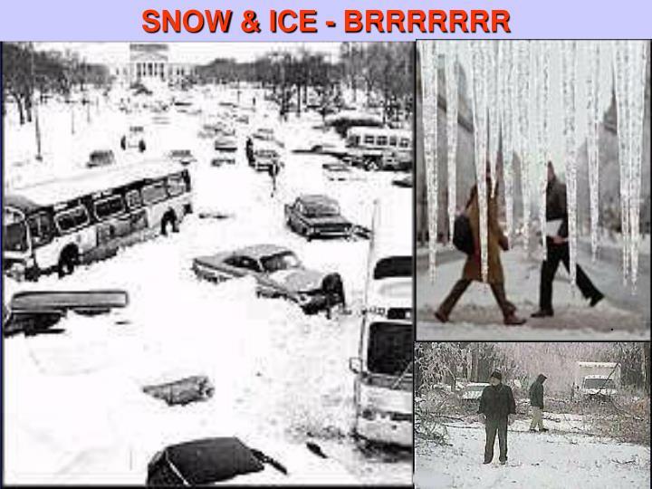 SNOW & ICE - BRRRRRRR