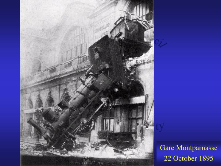 Gare Montparnasse 22 October 1895