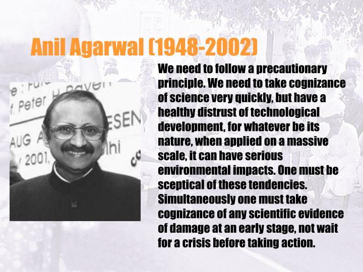 Anil Agarwal (1948-2002)