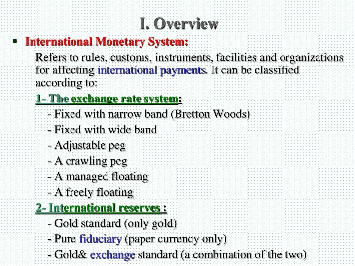I. Overview