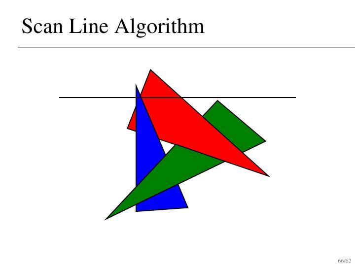 Scan Line Algorithm