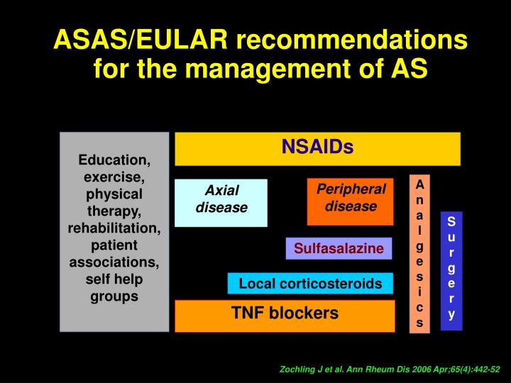 ASAS/EULAR recommendations
