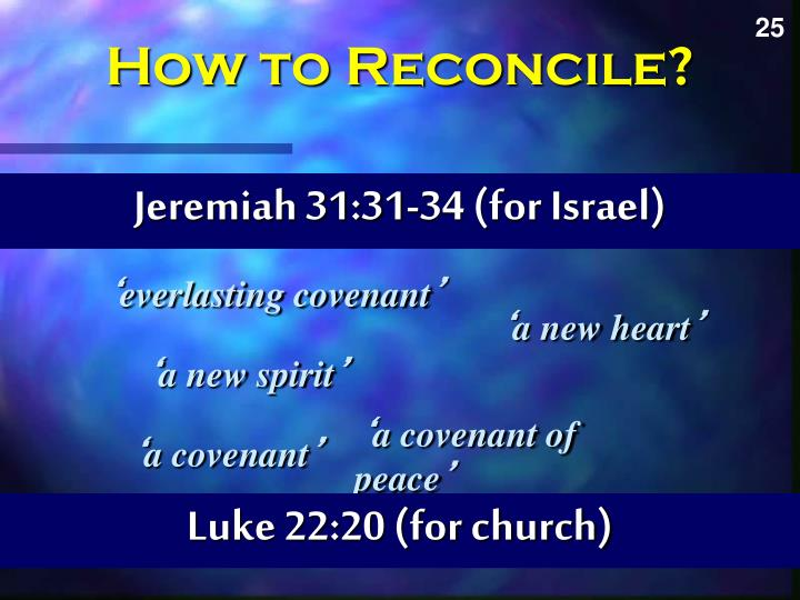 How to Reconcile?