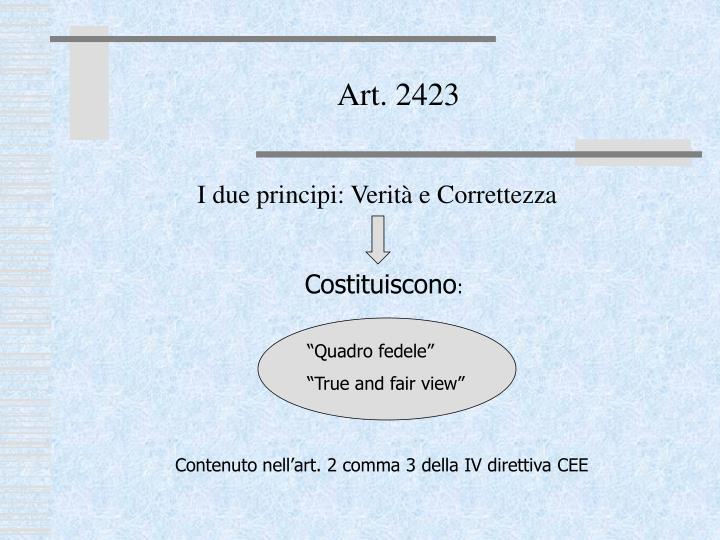 Art. 2423