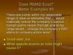 does rmad exist better examples 3