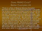 does rmad exist better examples 4