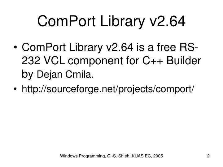 ComPort Library v2.64