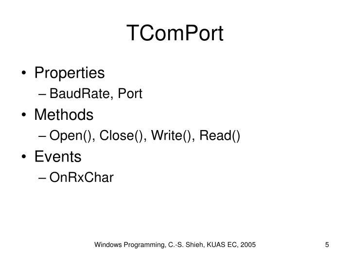 TComPort