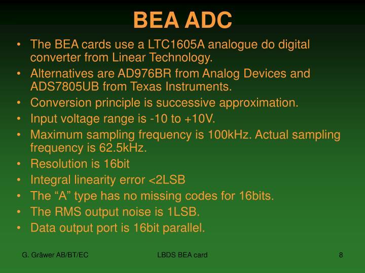 BEA ADC