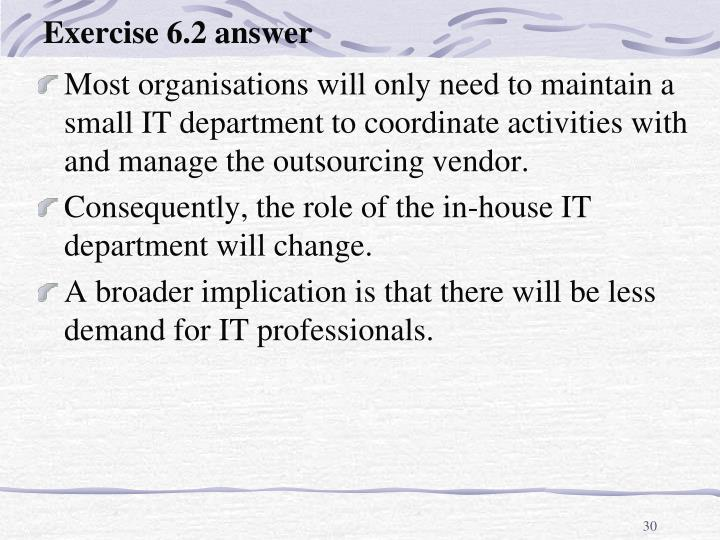 Exercise 6.2 answer
