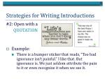 strategies for writing introductions1