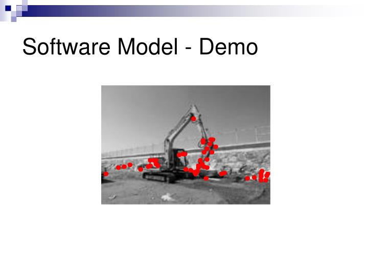 Software Model - Demo