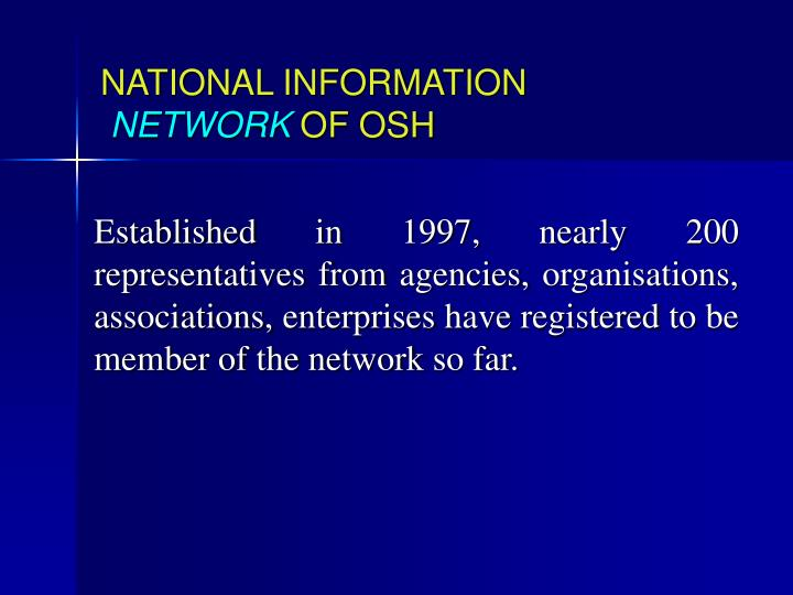 NATIONAL INFORMATION