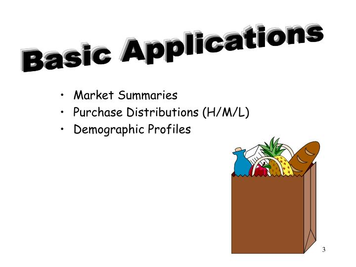 Basic Applications