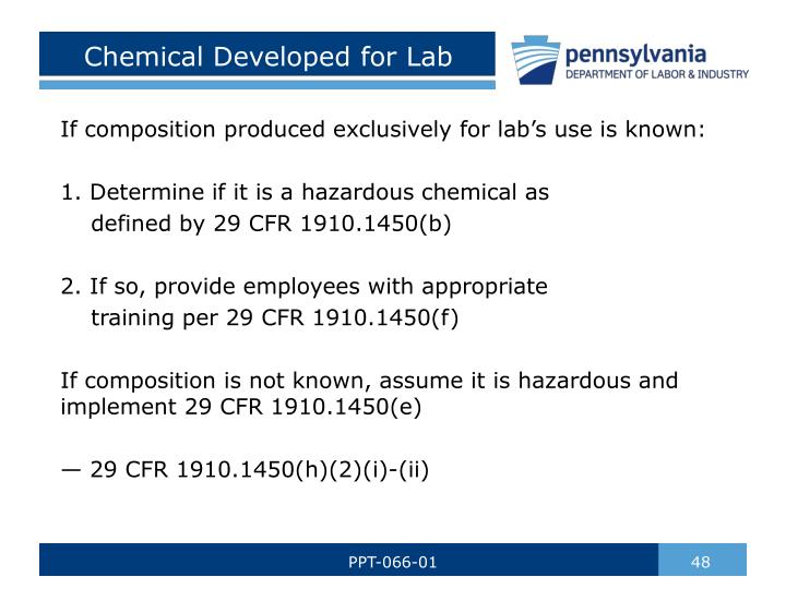 Chemical Developed for Lab