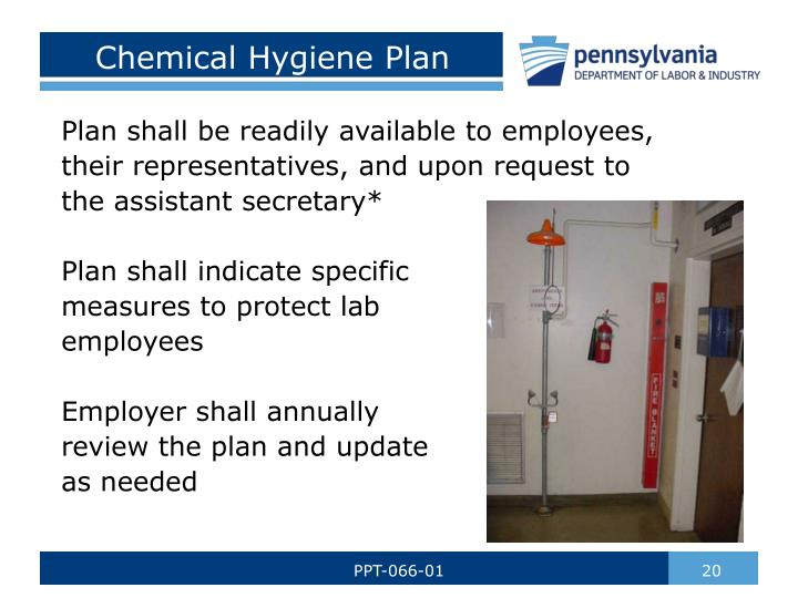 Chemical Hygiene Plan