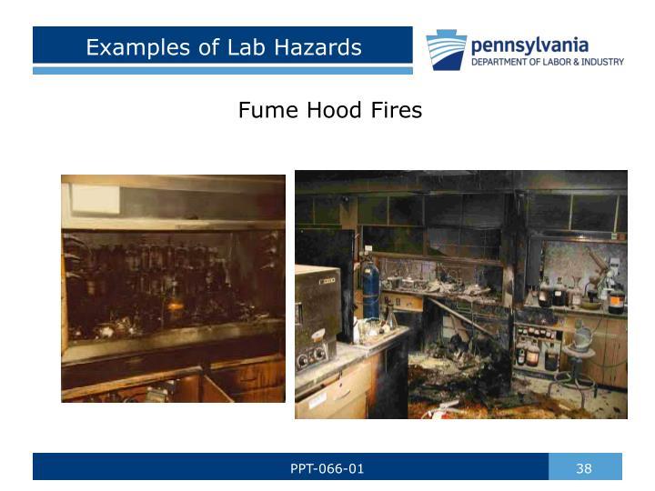 Examples of Lab Hazards