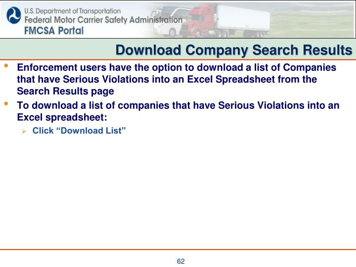 Download Company Search Results