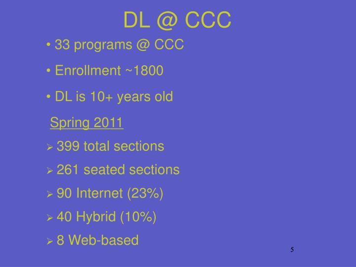 DL @ CCC