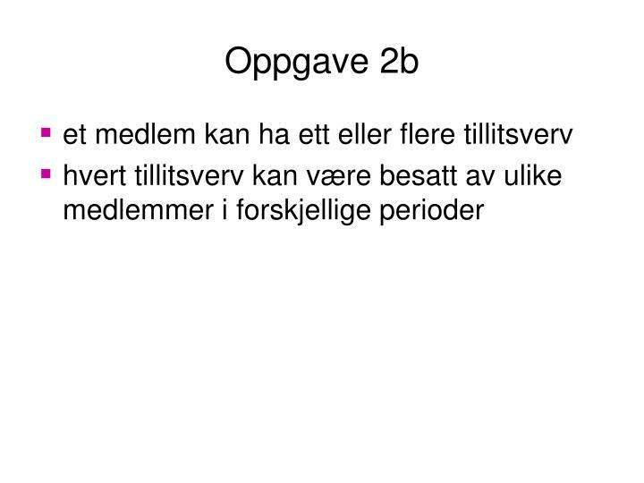 Oppgave 2b