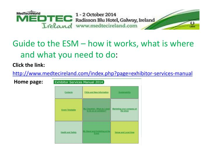 Guide to the ESM – how it works, what is where and what you need to do