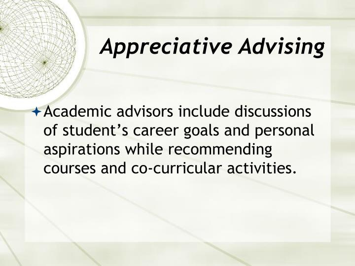 Appreciative Advising
