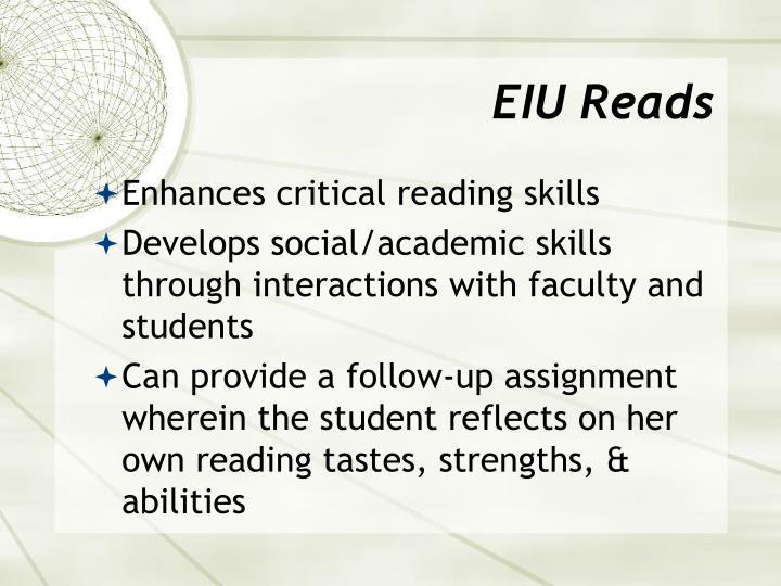 EIU Reads