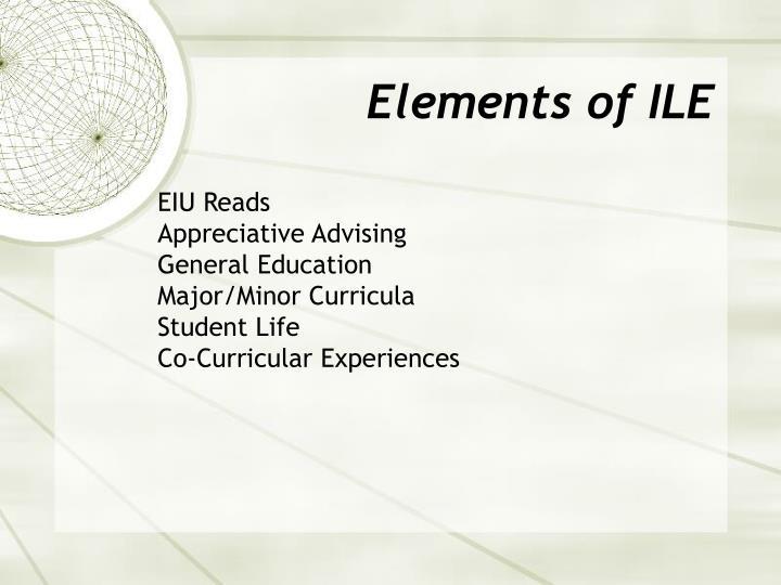 Elements of ILE