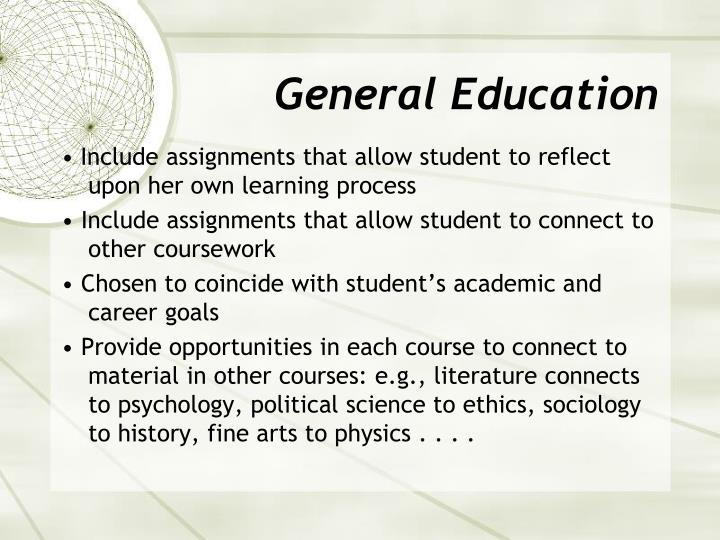 General Education