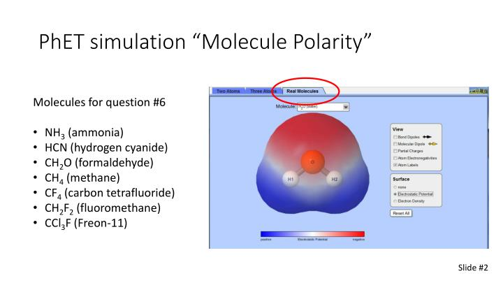 Molecule Polarity