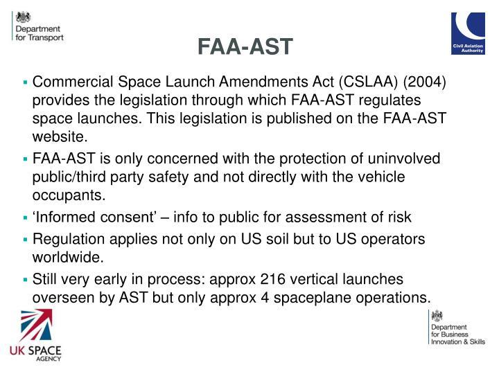 FAA-AST