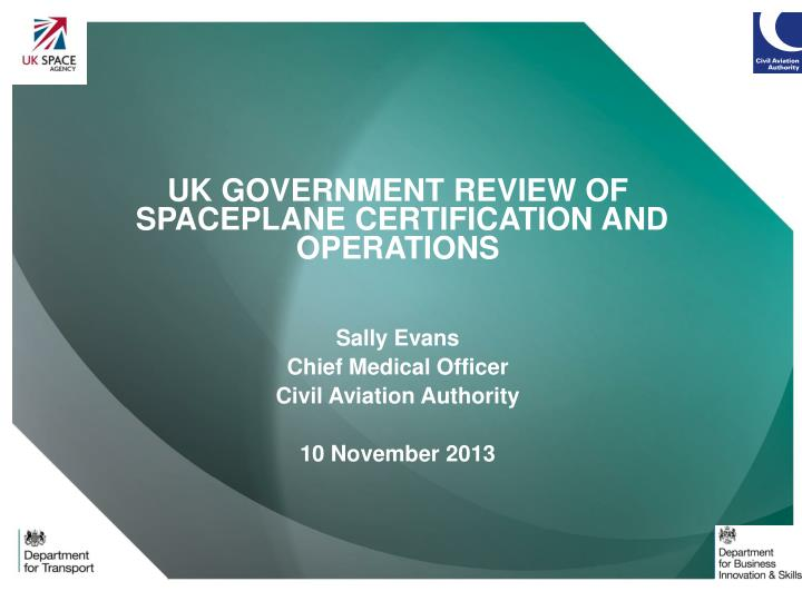 UK GOVERNMENT REVIEW OF