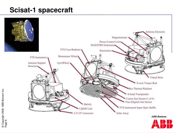Scisat-1 spacecraft