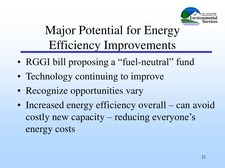 "RGGI bill proposing a ""fuel-neutral"" fund"