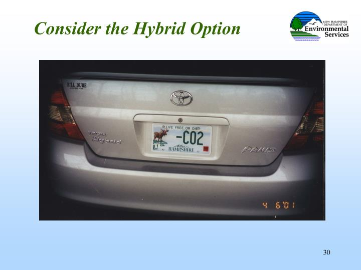Consider the Hybrid Option