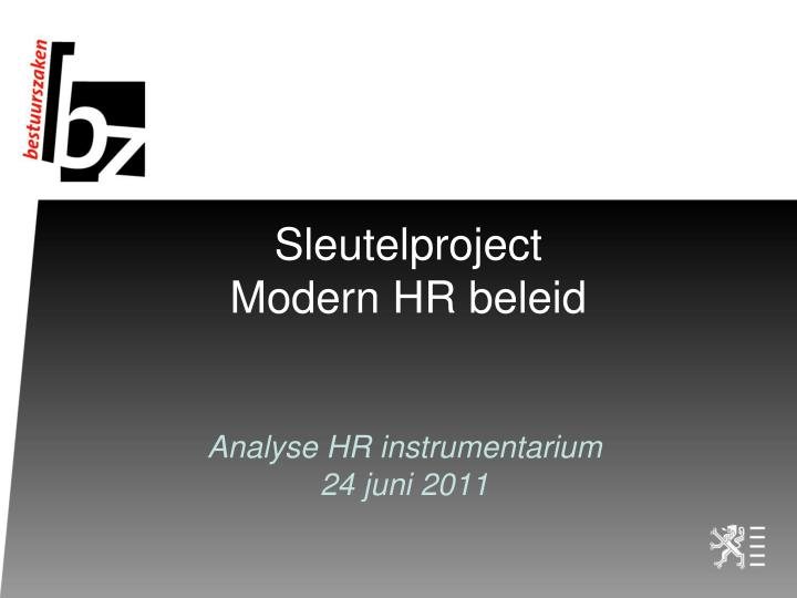 Sleutelproject
