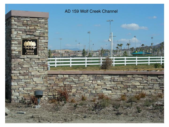 AD 159 Wolf Creek Channel