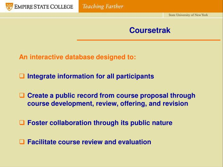Coursetrak