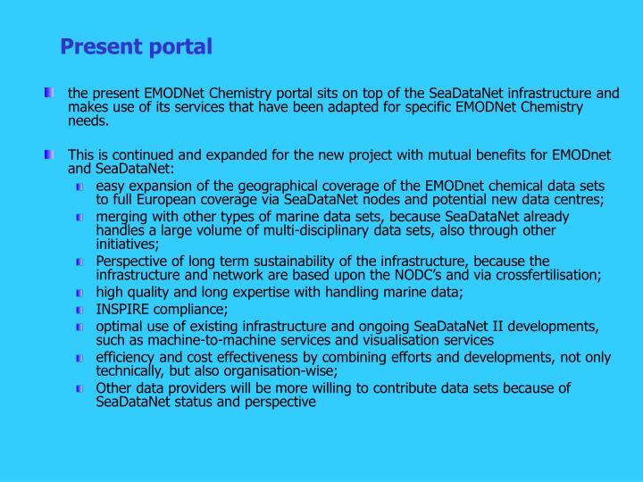 Present portal