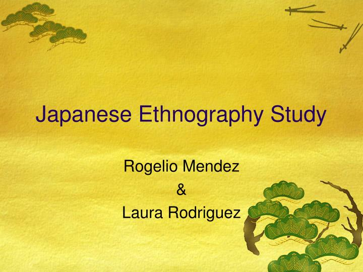 an introduction to the ethnography of japan