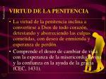 virtud de la penitencia1