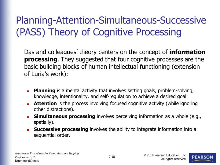 Das and colleagues' theory centers on the concept of