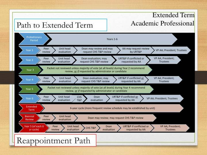 Extended Term Academic Professional