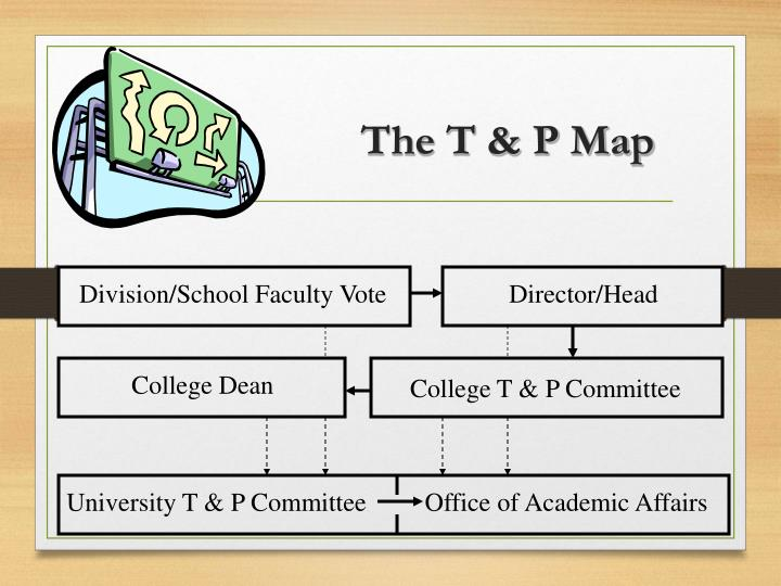 The T & P Map