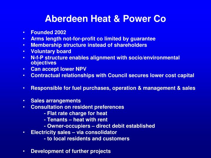 Aberdeen Heat & Power Co