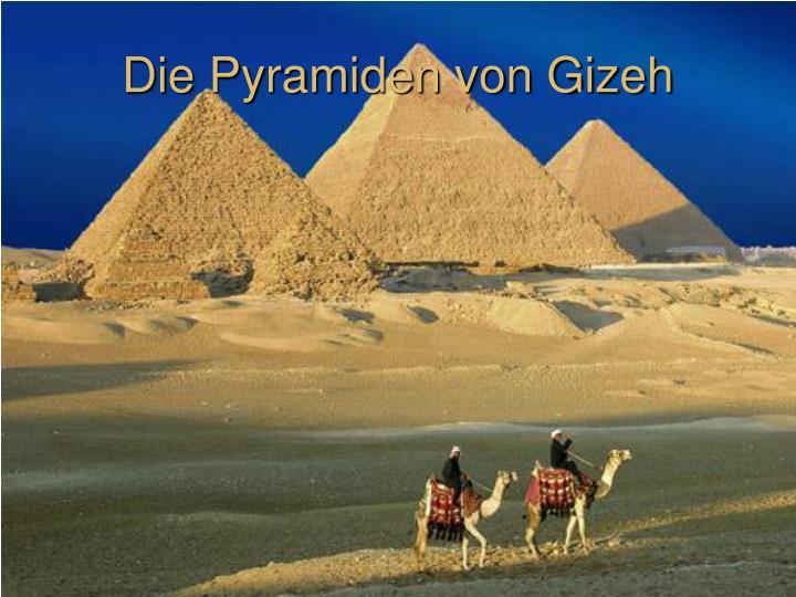 Bauzeit Pyramiden