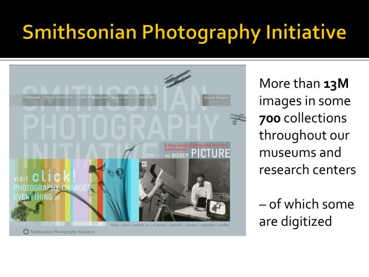 Smithsonian photography initiative