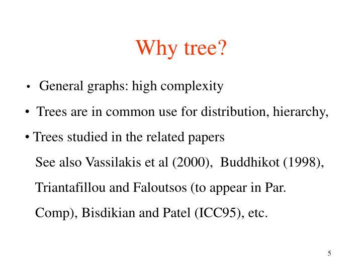 Why tree?