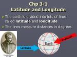 chp 3 1 latitude and longitude
