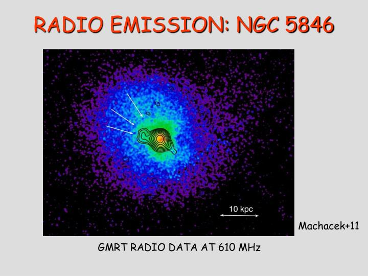 RADIO EMISSION: NGC 5846